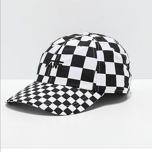 NWT Vans Court Side Checkered Hat